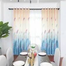 Door Window Curtain Living Room Bedroom Blackout Drape Feather Curtains Decor B