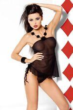 axami Negligee Babydoll camicia da notte+Perizoma v-1830 contanti Game lingerie