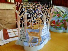 Tattered Lace FLECTERE Xmas Die Cuts Deer Snow Carol Singers Robin Church 3 sets