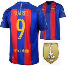 Trikot Nike FC Barcelona 2016-2017 Home WC - Suarez 9 [128 bis XXL] Barca Badge