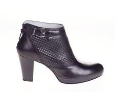 Tronchetto scarpa pelle donna nero 615020 NERO GIARDINI 40 41 saldi 0ef69110d98