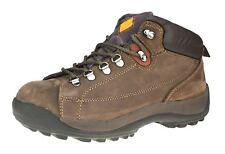 Seguridad C3222 Trasera Baja marrón con cordones / Trabajo Puntera Botas