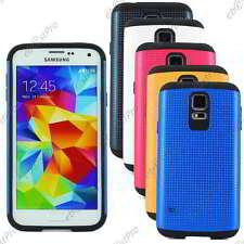 Coque Housse Etui Armor Anti Choc Samsung Galaxy S5/S5 New