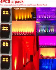 DJ Freedom Par DMX Wireless Battery Powered LED Par RGBWA+UV Up Led Wash Lights