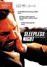 Sleepless Night (DVD, 2012) Tomer Sisley BRAND NEW