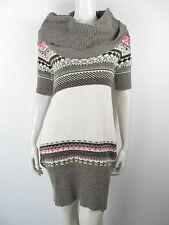 Fracomina Kleed Kleid Dress Jurk Long Pulli 8048 Neu