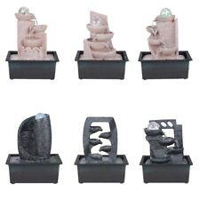 Fontaine d'intérieur en pierre synthétique en 6 divers modèles