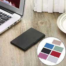 1Pc Professional business card holder for men&women aluminum card case TS