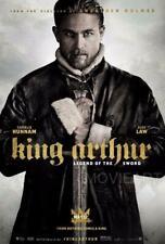 RE Artù Leggenda della spada Charlie Hunnam POSTER FILM A4 A3 Film Cinema
