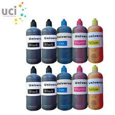 Lot 100ml Universal Printer Refill Ink Bottle fits Epson Printer NON-OEM