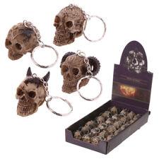 Skull Head Key Chain Gothic Keyring Handbag Bag Hanging Pendant Car Keychain