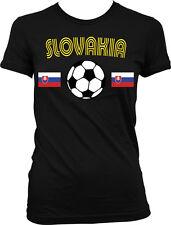Slovakia Soccer Ball Flag -Country Colors Slovak Pride Juniors T-shirt