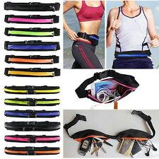 Sports Fanny Belly Waist Bum Pack Bag Fitness Running Jogging Cycling Belt Pouch