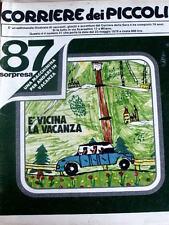 Corriere dei Piccoli 21 1979 Sam peck - Ufo Robot - Marzolino Tarantola