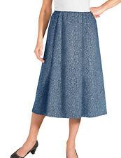 Ladies Tweed Effect Skirt Length 27 Inches
