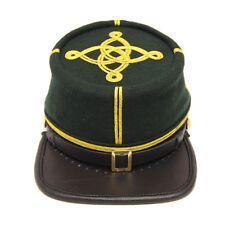 Civil War Berdans sharpshooter Green Captains 2 rows Gold Braids kepi