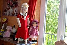 robe cyrillus 5 ans rouge liseret blanc style badminton petites manches