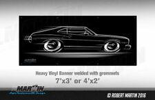 BIG BANNER 1973 Gran Torino Sport Art Ford '73 GT GTS