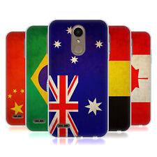 HEAD CASE DESIGNS VINTAGE FLAGS GEL CASE FOR LG PHONES 1