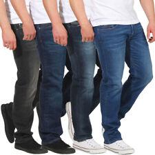 Diesel Herren Jeans Waykee Hose Regular Straight Jeanshose Männer Used-Look