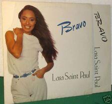 LARA SAINT PAUL:LP-BRAVO-ORIGINALE ITALY 1981 EX+ !!!!!