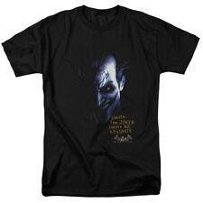 Batman Arkham Asylum Joker DC Comics Licensed Adult T-Shirt