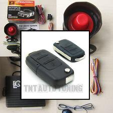 Coche alarma sistema de seguridad + Control Remoto Bloqueo Central Kit Vw Golf Audi A3 A4 Dijes
