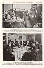 1899 BOER WAR ~ 2nd LIFE GUARDS WINDSOR SGTS MESS KITCHEN ~ SANS PAREIL CABIN