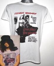 Live Fast Die Young T-Shirt Worn By Slash Guns N Roses AC/DC and Motley Crue