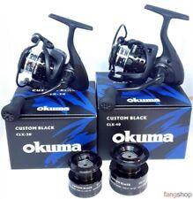 Okuma CUSTOM BLACK CLX Angelrolle 7+1 Kugellager 2 Aluspulen 5 Jahre Garantie