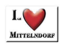 DEUTSCHLAND SOUVENIR - SACHSEN MAGNET MITTELNDORF (SÄCHSISCHE SCHWEIZ OSTERZGEBI