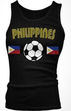 Philippines Soccer Ball Flag - Filipino Filipina Pride  Boy Beater Tank Top