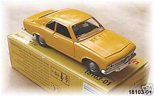 Märklin 18103-01 Opel Manta A 1:43 maisgelb #NEU OVP#