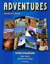 Oxford ADVENTURES Intermediate Student's Book | Wetz Gammidge @NEW BOOK@