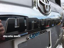 Toyota 4Runner Rear Emblem Decal Overlay 2010 2011 12 2013 2014 2015 2016 17 18