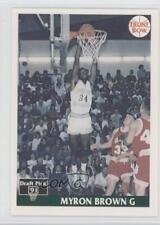 1991 Front Row Japanese #12 Myron Brown Slippery Rock University Basketball Card