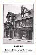 Grantham. Ye Olde Cafe. Catlin Bros. Ltd.