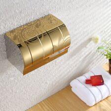 acciaio inox Toilette Rotolo di carta supporti BAGNO floreale Scatola salviette