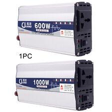 600/1000W Power Inverter 12v/24V to 220V Pure Sine Wave Converter saving