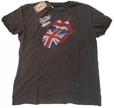 Amplified rolling stones uk strass vip t-shirt G. xl/xxl