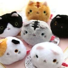 Lovely Neko Atsume Cat backyard Dango Mochi Soft Plush Doll Anime Mini cat Toy