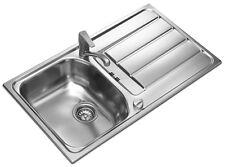 Designspüle Edelstahl Einbauspüle Spüle Spülbecken Küchenspüle Edelstahlspüle
