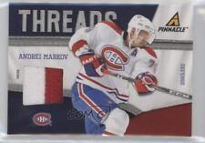 2011-12 Pinnacle Threads Prime #33 Andrei Markov Montreal Canadiens Hockey Card