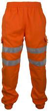 Hi Viz Jogging Bottoms Joggers High Visibility Small - 4XL Yellow & Orange EN471