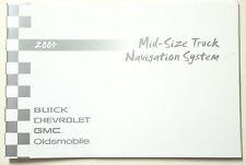 GM 2004 Mid-Size Truck Navigation Manual 15197205B
