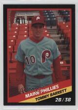 1988 CMC AAA #1988-242 Tom Barrett Maine Phillies Rookie Baseball Card