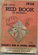 Little Red Book of Baseball 1956