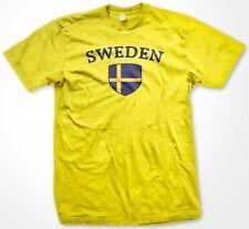 Sweden Swedish Country Crest Flag Colors Ethnic Pride Men's T-shirt