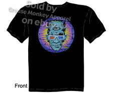 Kustom Kulture Frankenstein T-shirt, God of 3D Tattoo Tee, Sz M L XL 2XL 3XL New