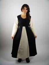Mittelalterkleid schwarz / natur Gewandung Kleid Larp S M L XL XXL XXXL